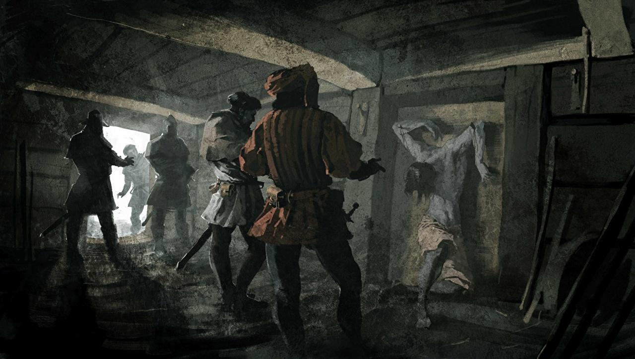 Фотография Kingdom Come: Deliverance Воители Игры воины