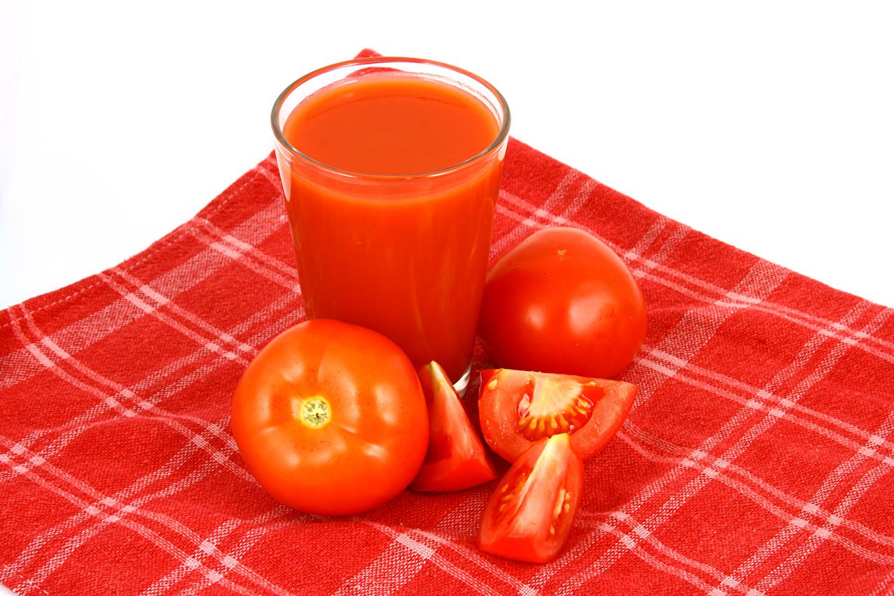 Картинка красных Помидоры Стакан Пища Овощи Крупным планом напиток Томаты красная красные Красный стакане стакана Еда Продукты питания вблизи Напитки