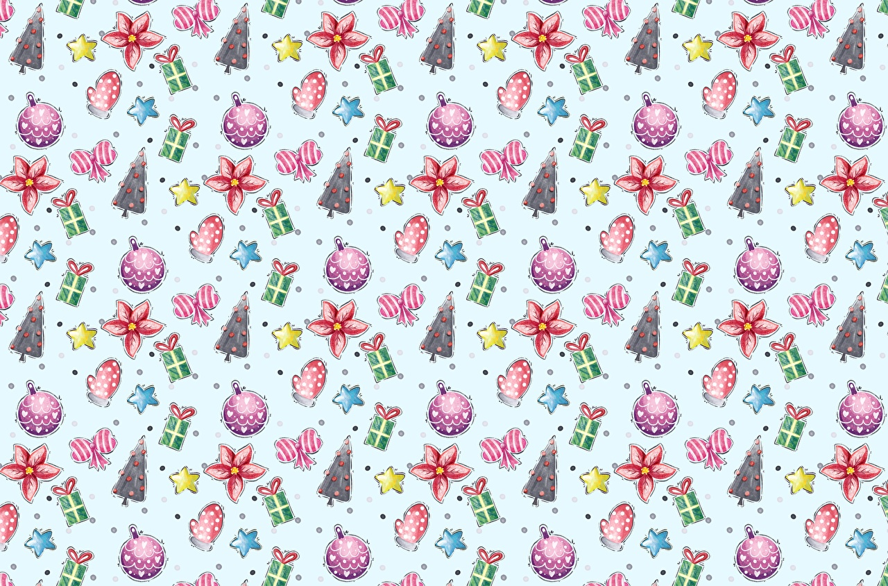 Картинка Текстура Рождество Новогодняя ёлка подарок Новый год Елка Подарки подарков