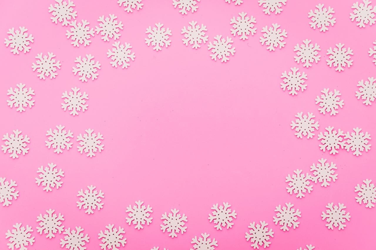 Картинки снежинка Шаблон поздравительной открытки Цветной фон Снежинки