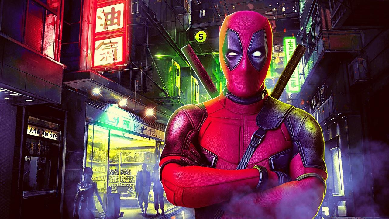 Фотографии Deadpool герой Фантастика Дэдпул Фэнтези