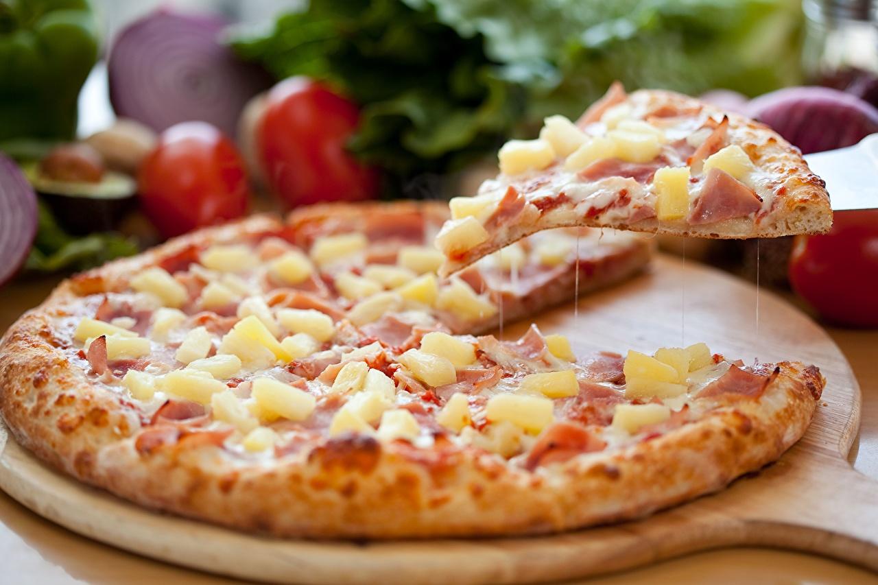 Фотографии Пицца Еда вблизи Пища Продукты питания Крупным планом