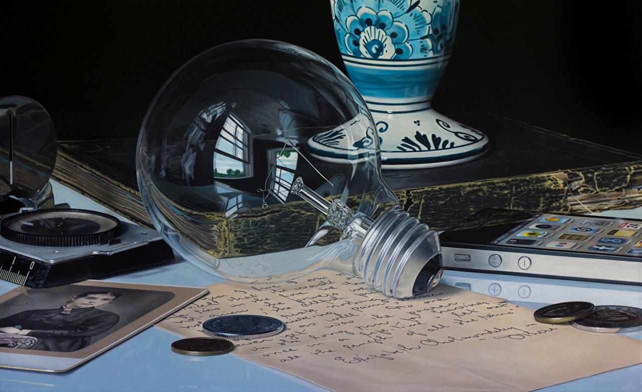 Фото Jason de Graaf Лампочка Крупным планом лампа накаливания вблизи