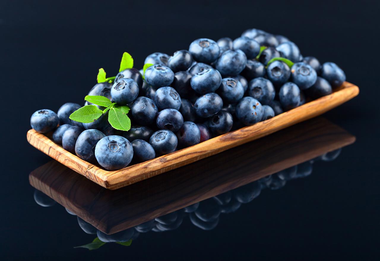 Картинка Черника Еда Пища Продукты питания