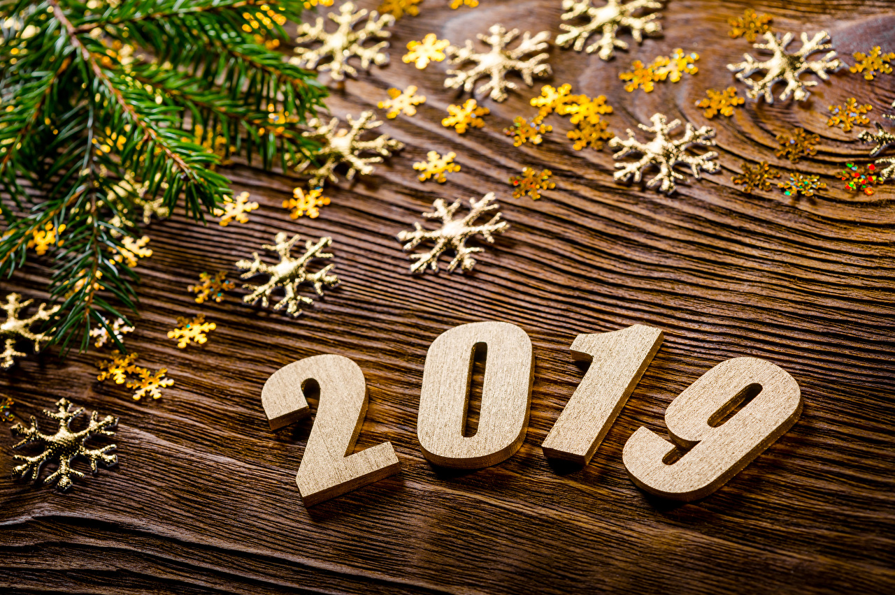 Картинки 2019 Новый год Снежинки Рождество снежинка