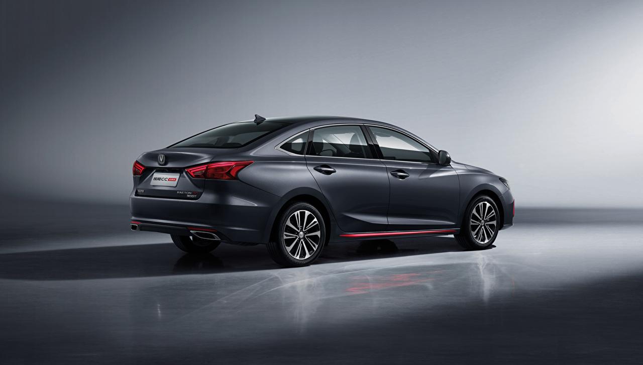 Фото Changan китайская Raeton CC Blue Drive, 2020 серые машина Металлик китайский Китайские серая Серый авто машины Автомобили автомобиль