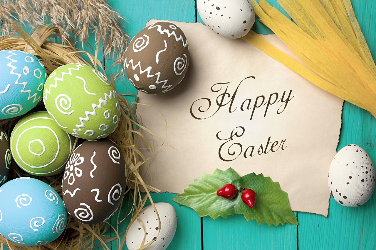 Фотографии Пасха инглийские Яйца Слово - Надпись английская Английский яиц яйцо яйцами слова текст