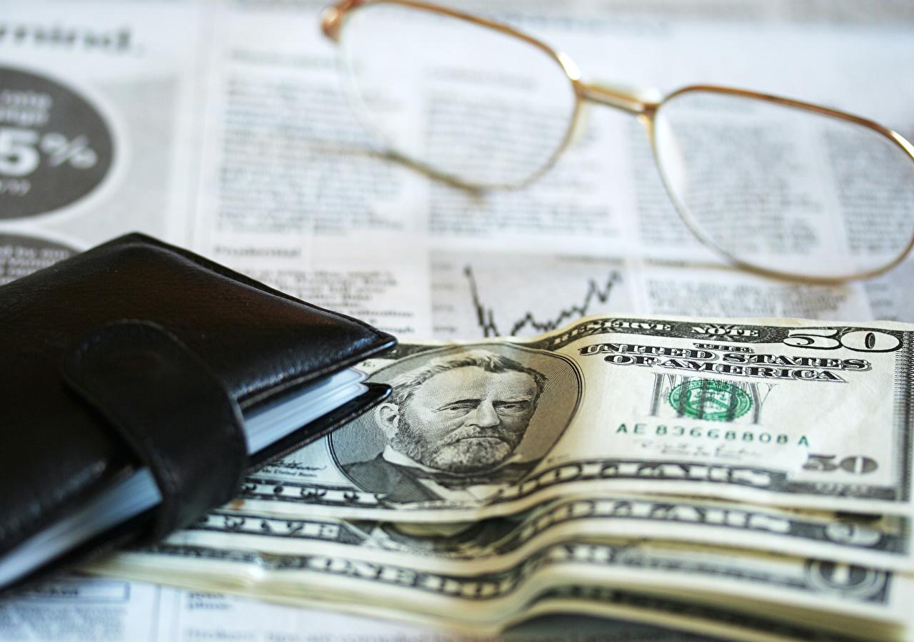 Деньги Купюры Доллары 50 Очки Банкноты