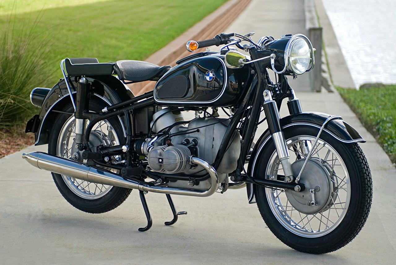 Фотография БМВ 1960-69 R 50 S Черный Мотоциклы BMW - Мотоциклы