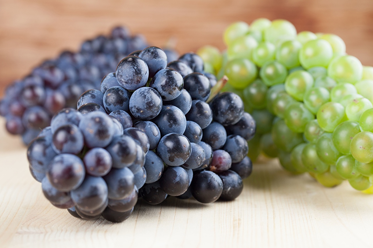 Картинка Виноград Еда вблизи Пища Продукты питания Крупным планом