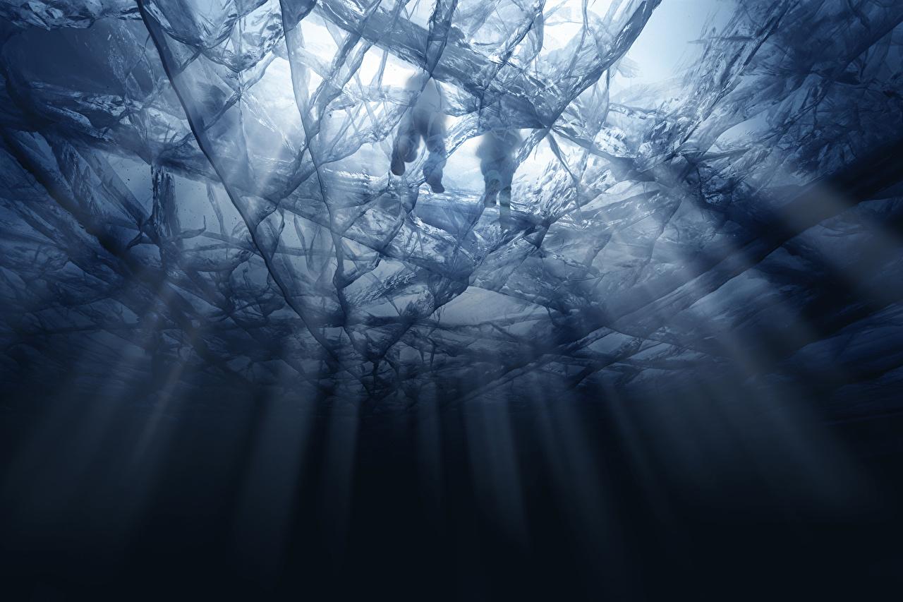 Фото Tom Clancy's Rainbow Six: Siege Осада Лучи света льда Игры воде Лед компьютерная игра Вода