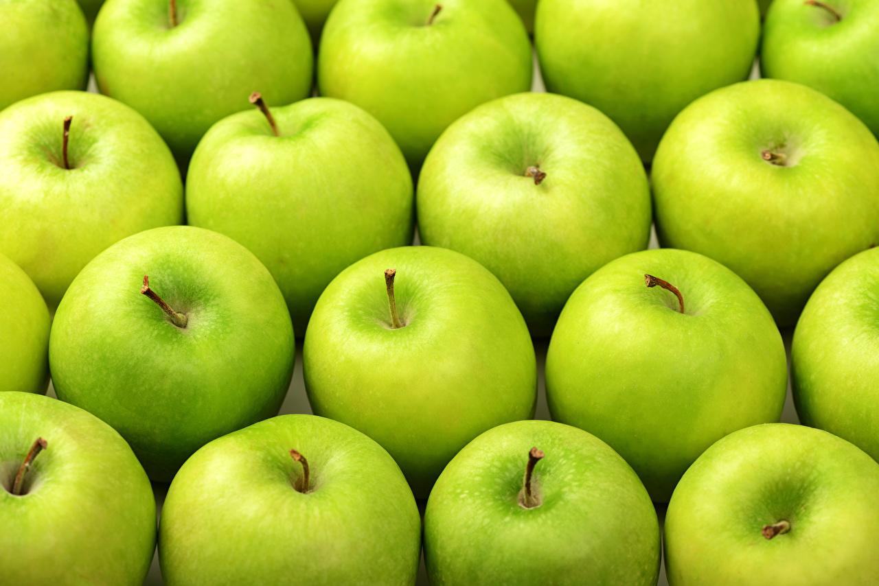 Фото Текстура Зеленый Яблоки Еда зеленых зеленые зеленая Пища Продукты питания