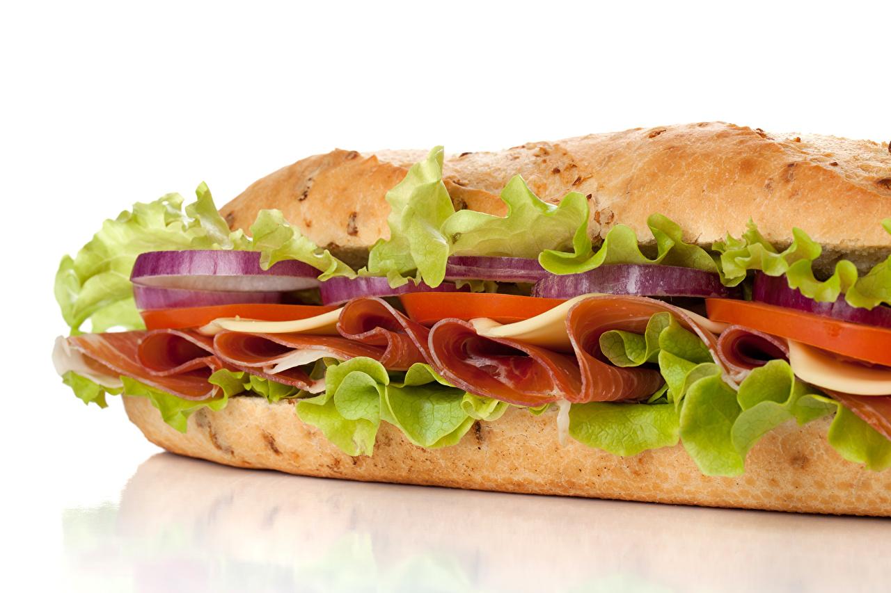 Картинка Еда Бутерброды Быстрое питание Сэндвич Крупным планом Пища Продукты питания Фастфуд бутерброд вблизи
