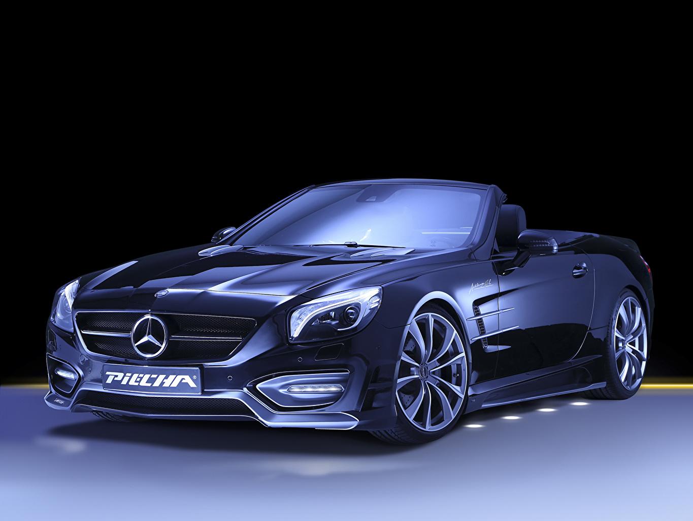 Картинка Тюнинг Мерседес бенц 2014 Piecha Design Avalange GT-R (based on Mercedes-Benz SL R231) кабриолета Автомобили Стайлинг Кабриолет Авто Машины