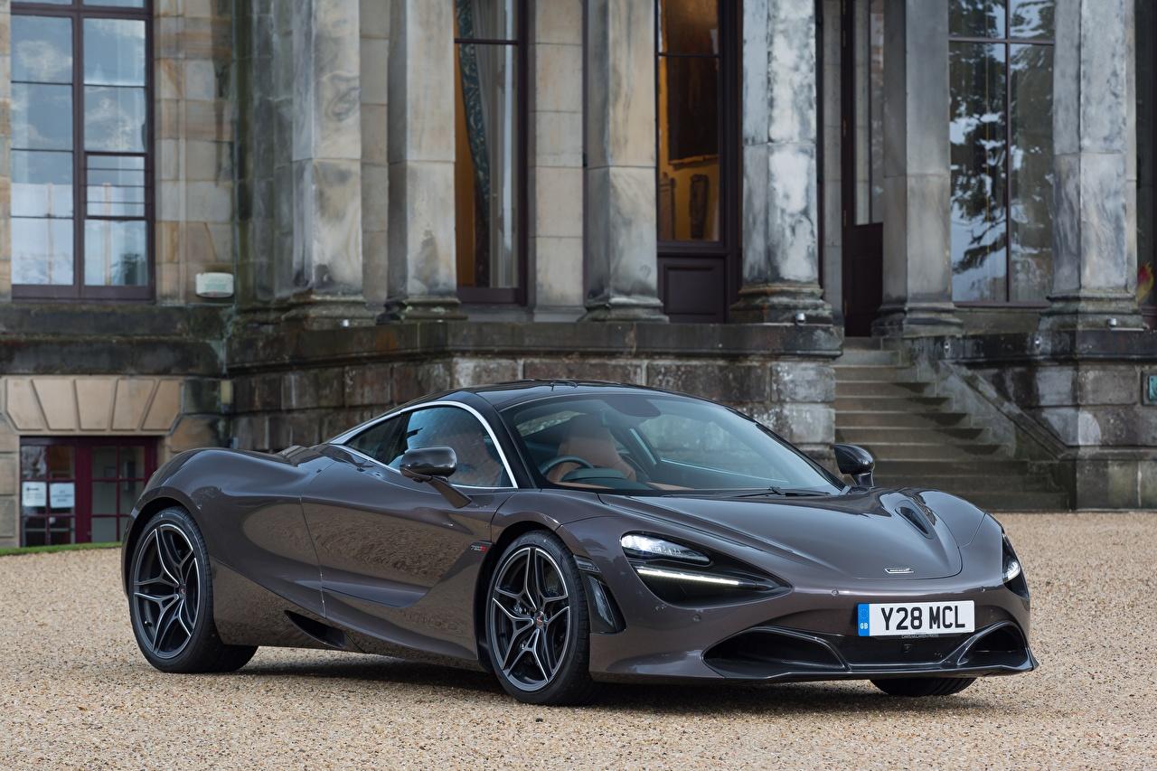 Фотографии McLaren 2017-18 720S Coupe Launch Edition Серый авто Металлик Макларен серые серая машина машины автомобиль Автомобили