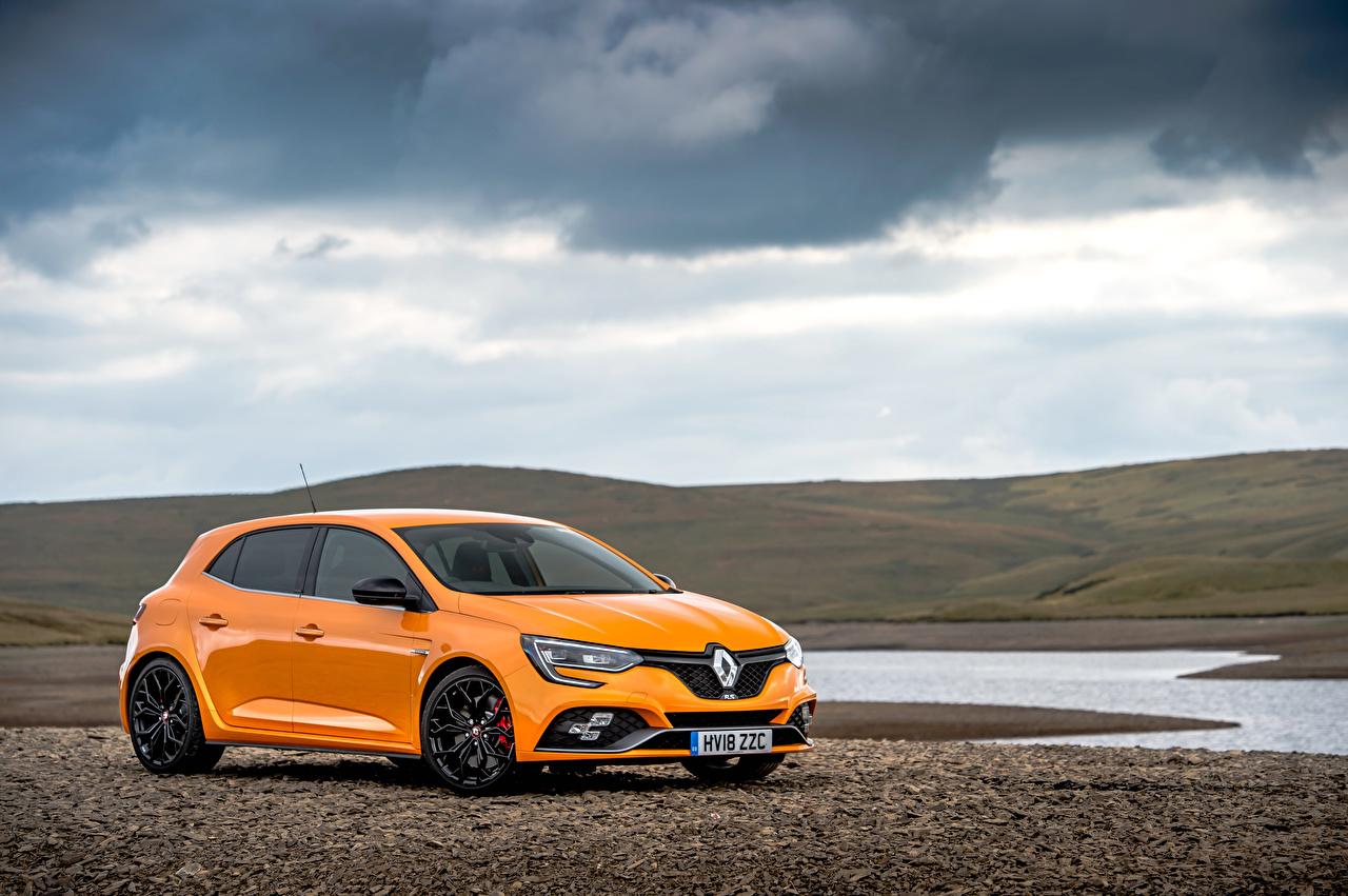 Картинка Рено 2018 Megane R.S. 280 Cup Оранжевый Металлик Автомобили Renault Авто Машины