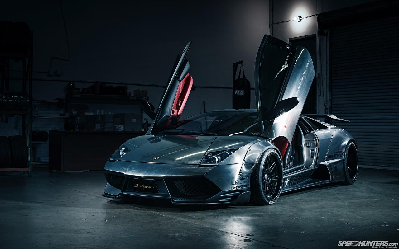 Фото Ламборгини дорогой Фары машины Спереди Металлик Lamborghini дорогие дорогая люксовые роскошная Роскошные роскошный фар авто машина автомобиль Автомобили