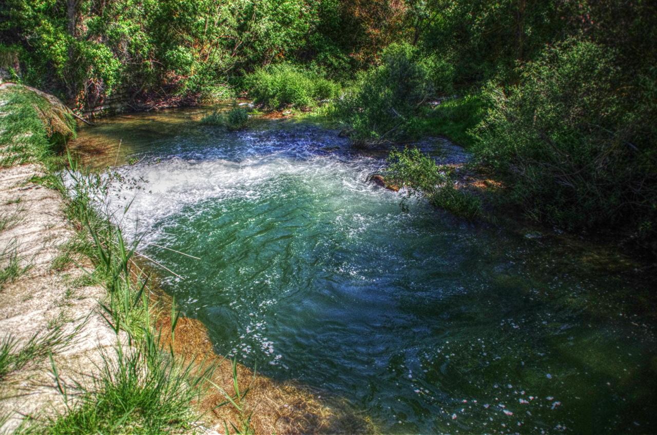 Фотография Испания Природа Вода речка Реки река воде