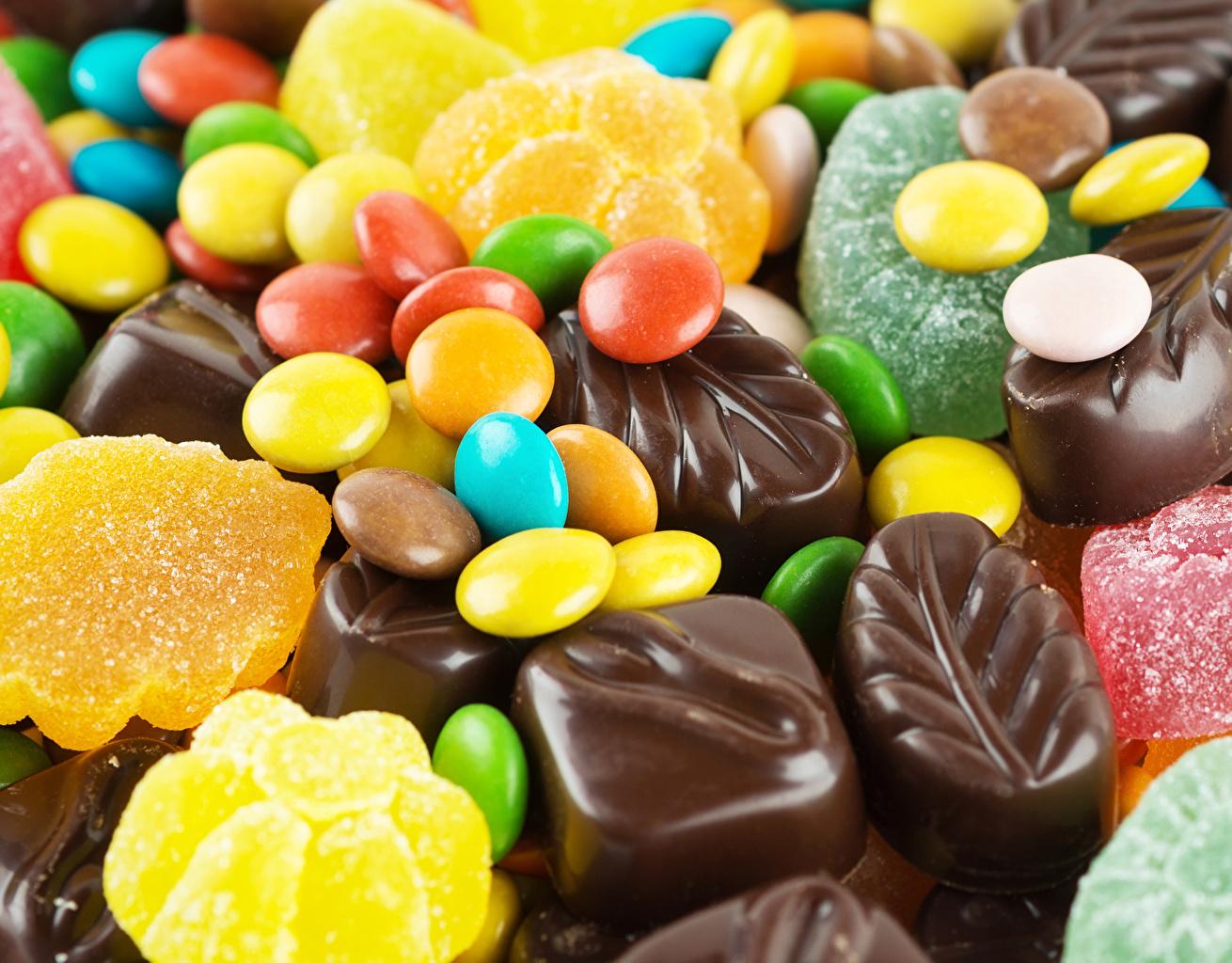 Картинки Шоколад Кофе Мармелад Еда сладкая еда Пища Продукты питания Сладости