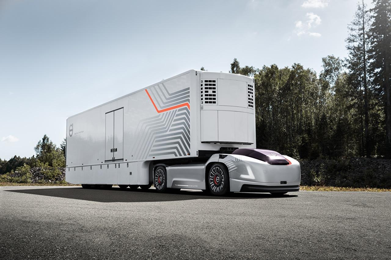 Фото Вольво Грузовики VERA, self-driving car авто Volvo машина машины Автомобили автомобиль