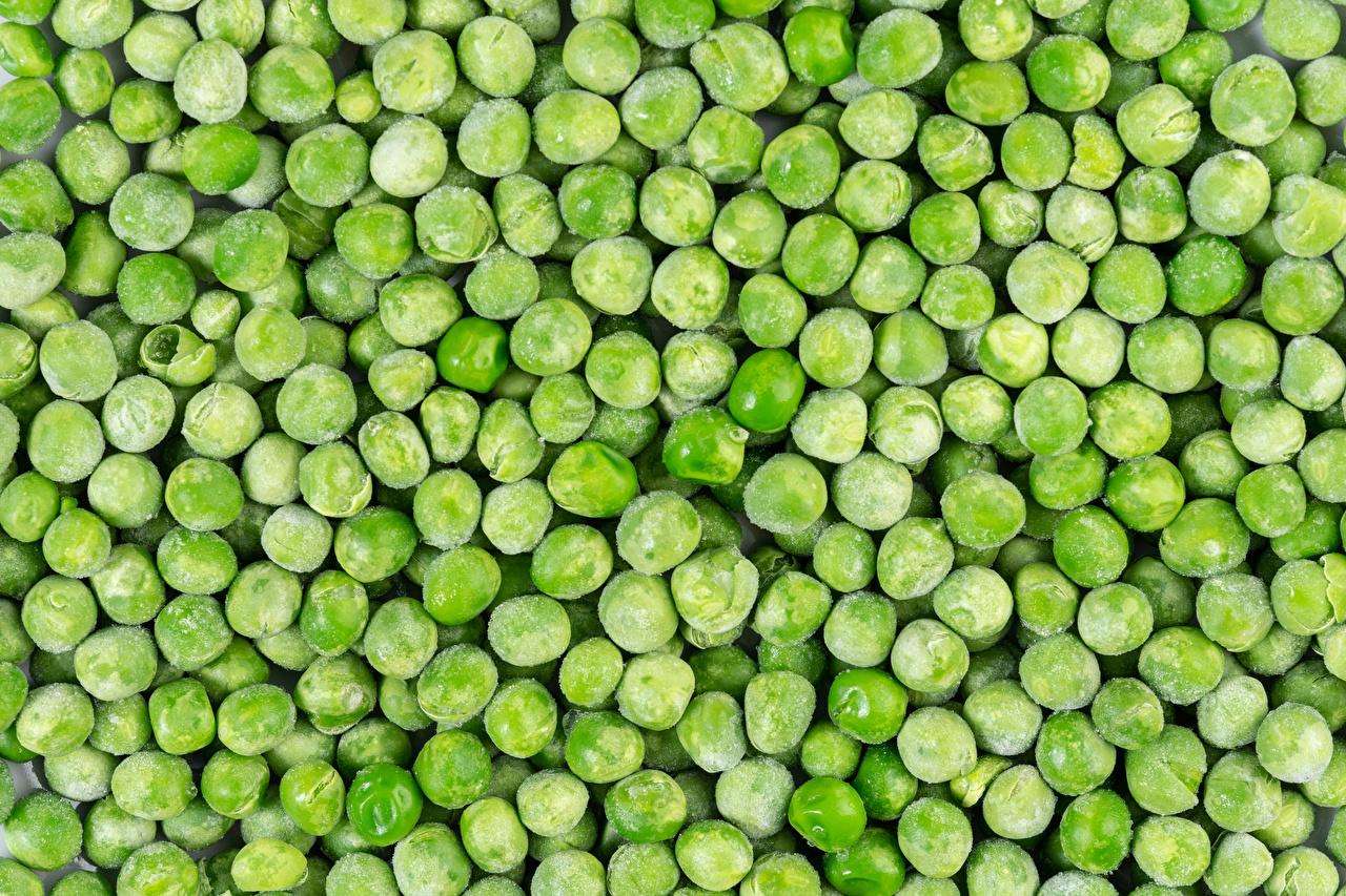 Фотография Текстура горох Пища Много Зеленый горошек Еда Продукты питания