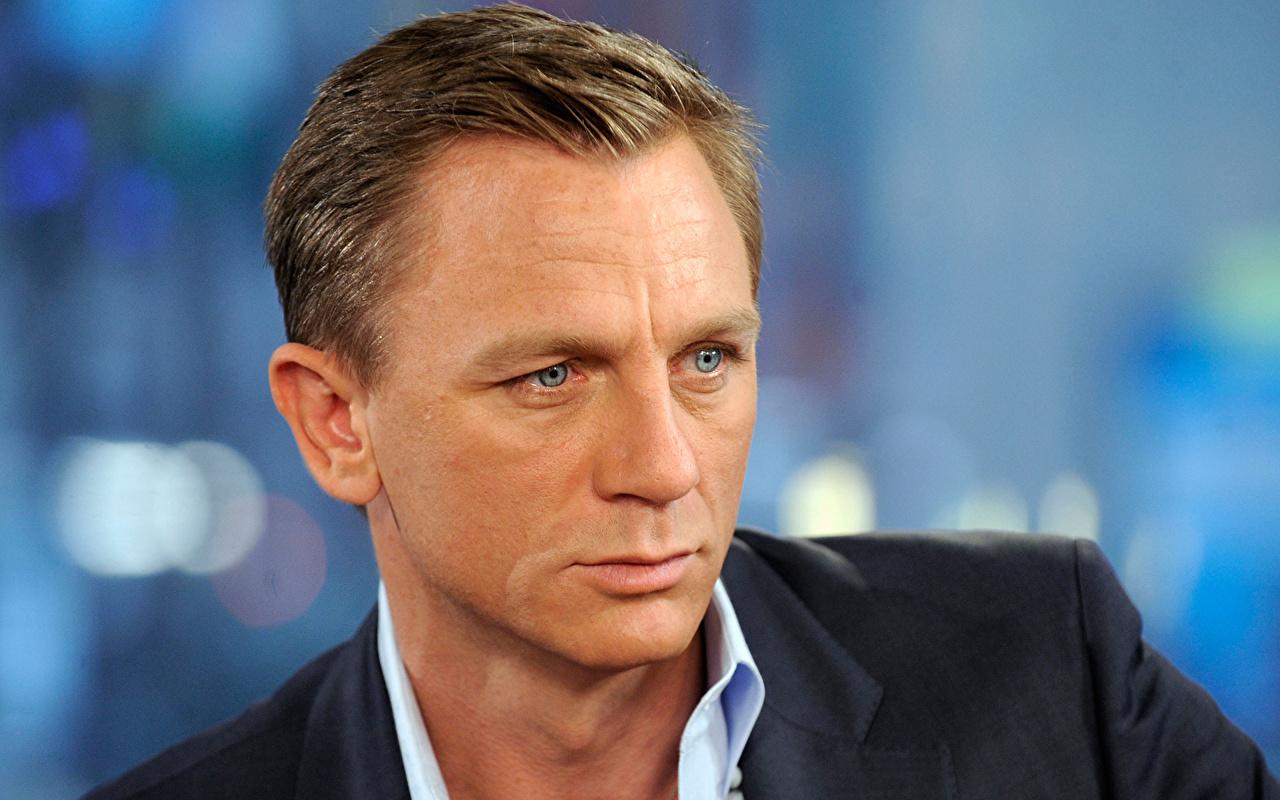 Обои для рабочего стола Дэниэл Крэйг Мужчины Daniel Wroughton Craig Лицо Знаменитости Daniel Craig лица