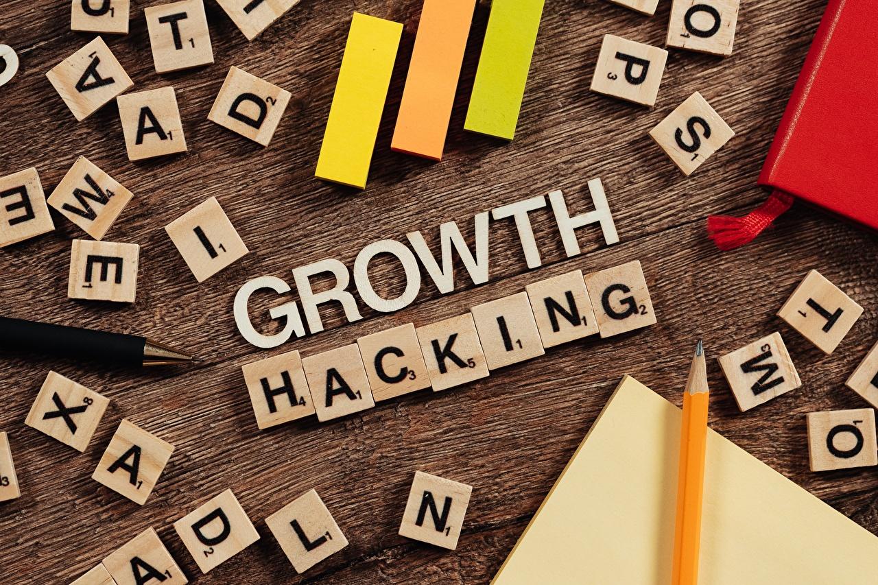 Фотография карандаша инглийские Growth Hacking текст карандаш Карандаши карандашей английская Английский слова Слово - Надпись