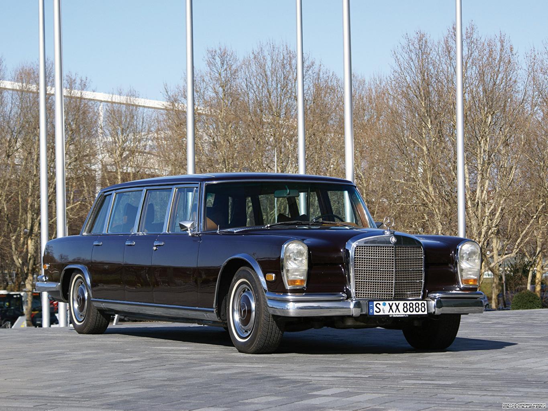 Картинки Мерседес бенц 600 Pullman [W100] 1964–81 Автомобили Mercedes-Benz авто машина машины автомобиль