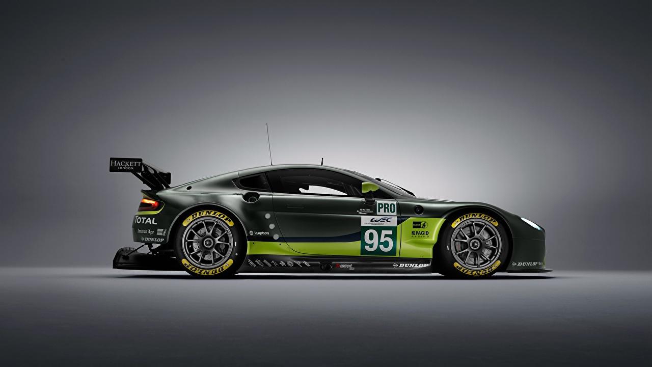 Фото Тюнинг Aston Martin GTE V8 Сбоку Автомобили Стайлинг Астон мартин Авто Машины