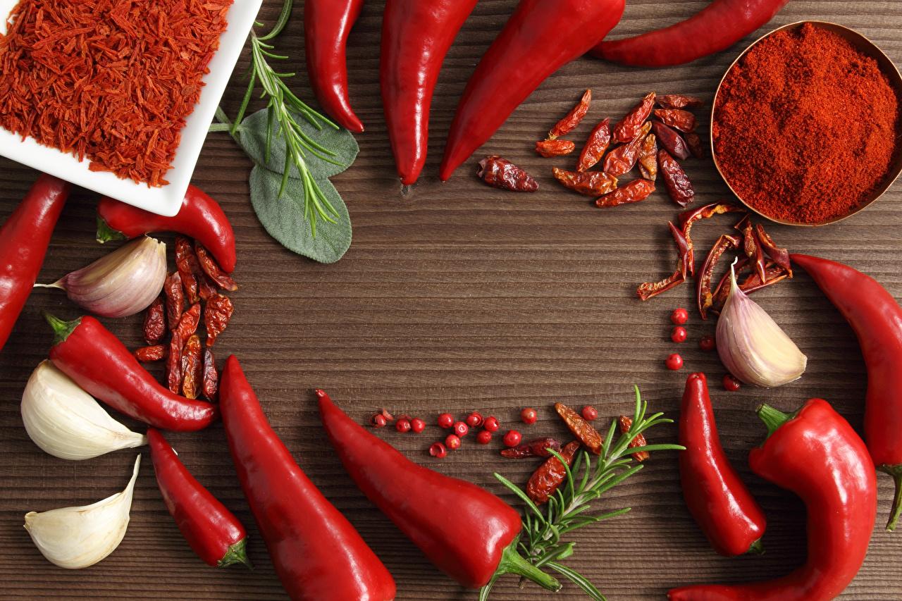 Картинки Острый перец чили Чеснок приправы Продукты питания Еда Пища Специи пряности