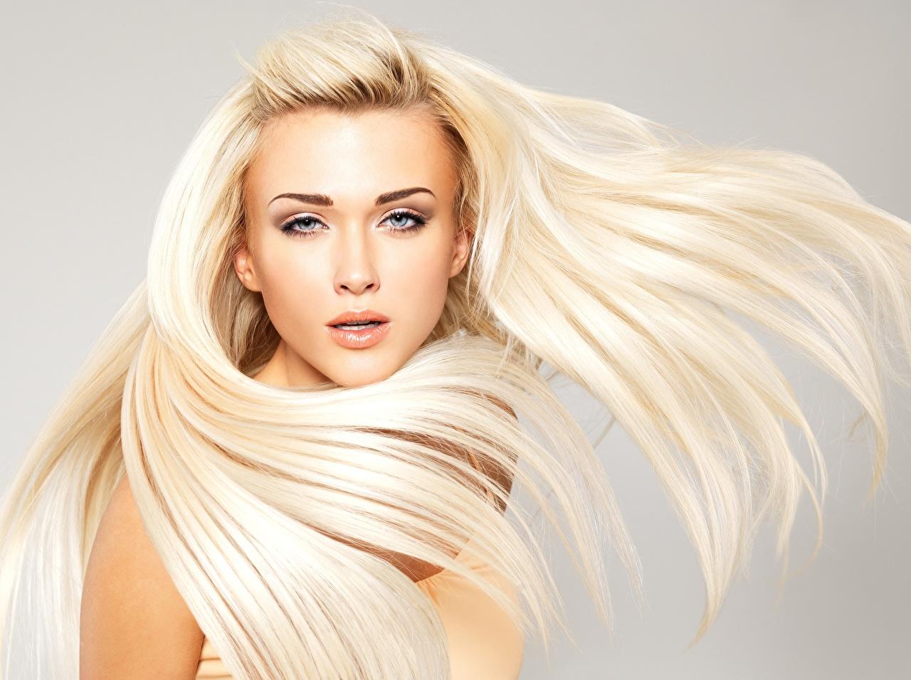 Картинка Блондинка фотомодель красивая прически волос Девушки смотрит блондинок блондинки Модель красивый Красивые Причёска Волосы девушка молодые женщины молодая женщина Взгляд смотрят