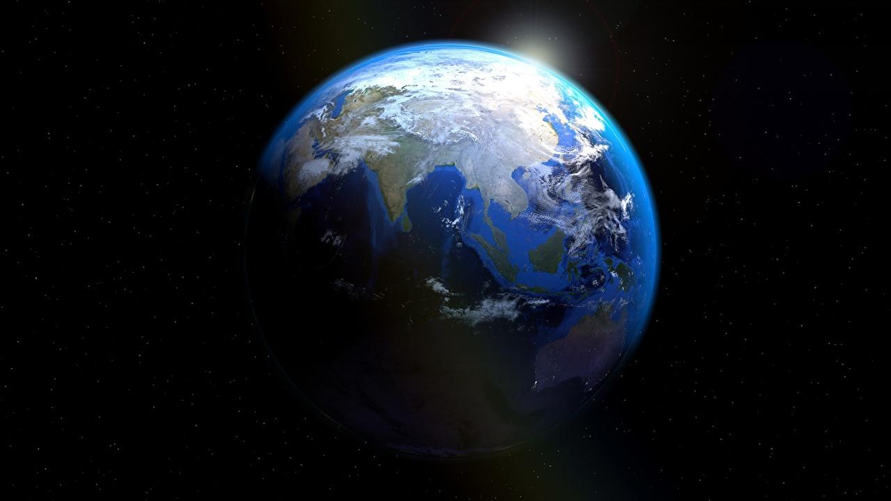 Фото Земля Планеты Космос земли планета
