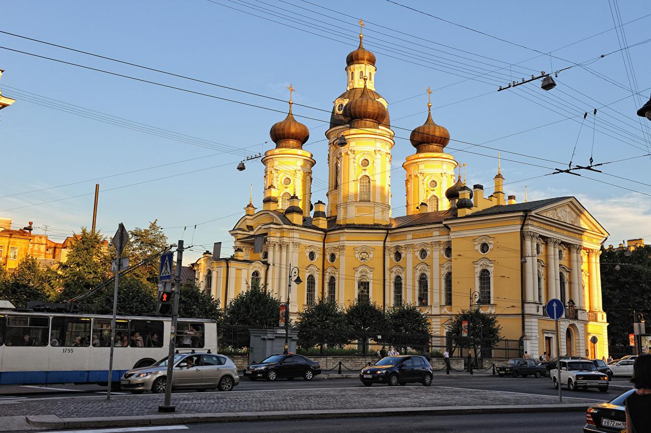 Фотография Санкт-Петербург Церковь Россия Улица Храмы Города