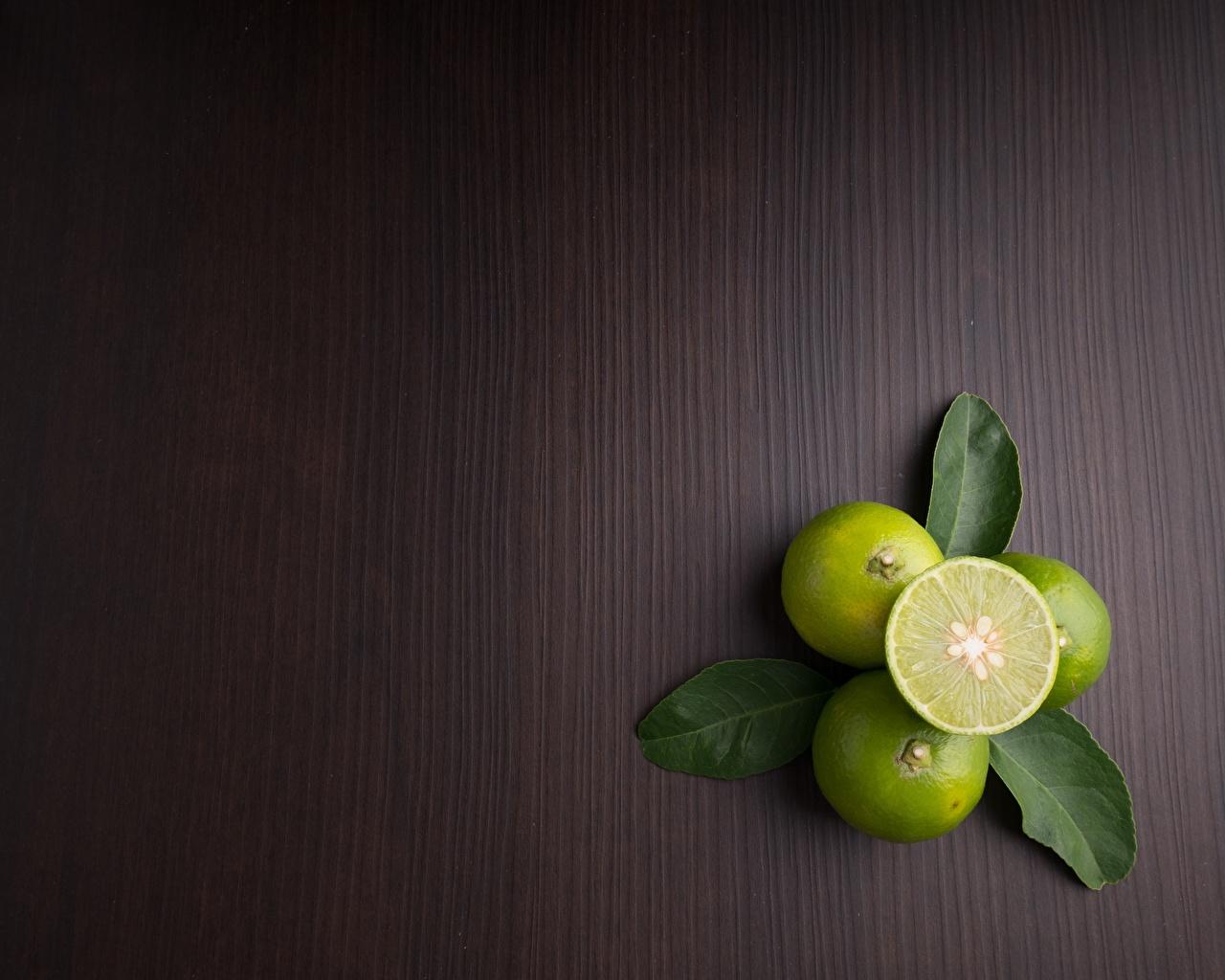 Обои для рабочего стола Листья Лайм Пища лист Листва Еда Продукты питания