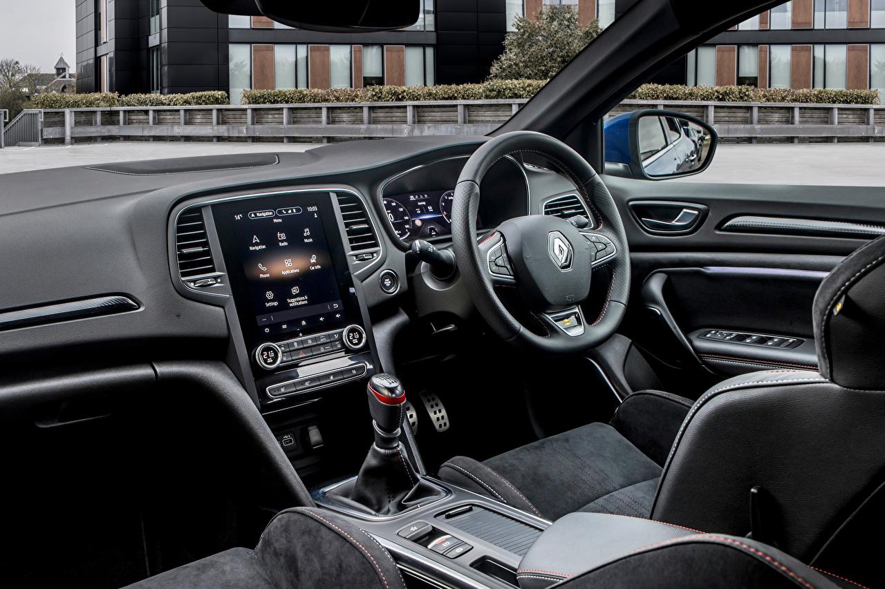 Фотографии Renault Салоны Рулевое колесо Mégane R.S. Line, UK-spec, 2020 машины Рено Автомобильный руль авто машина Автомобили автомобиль