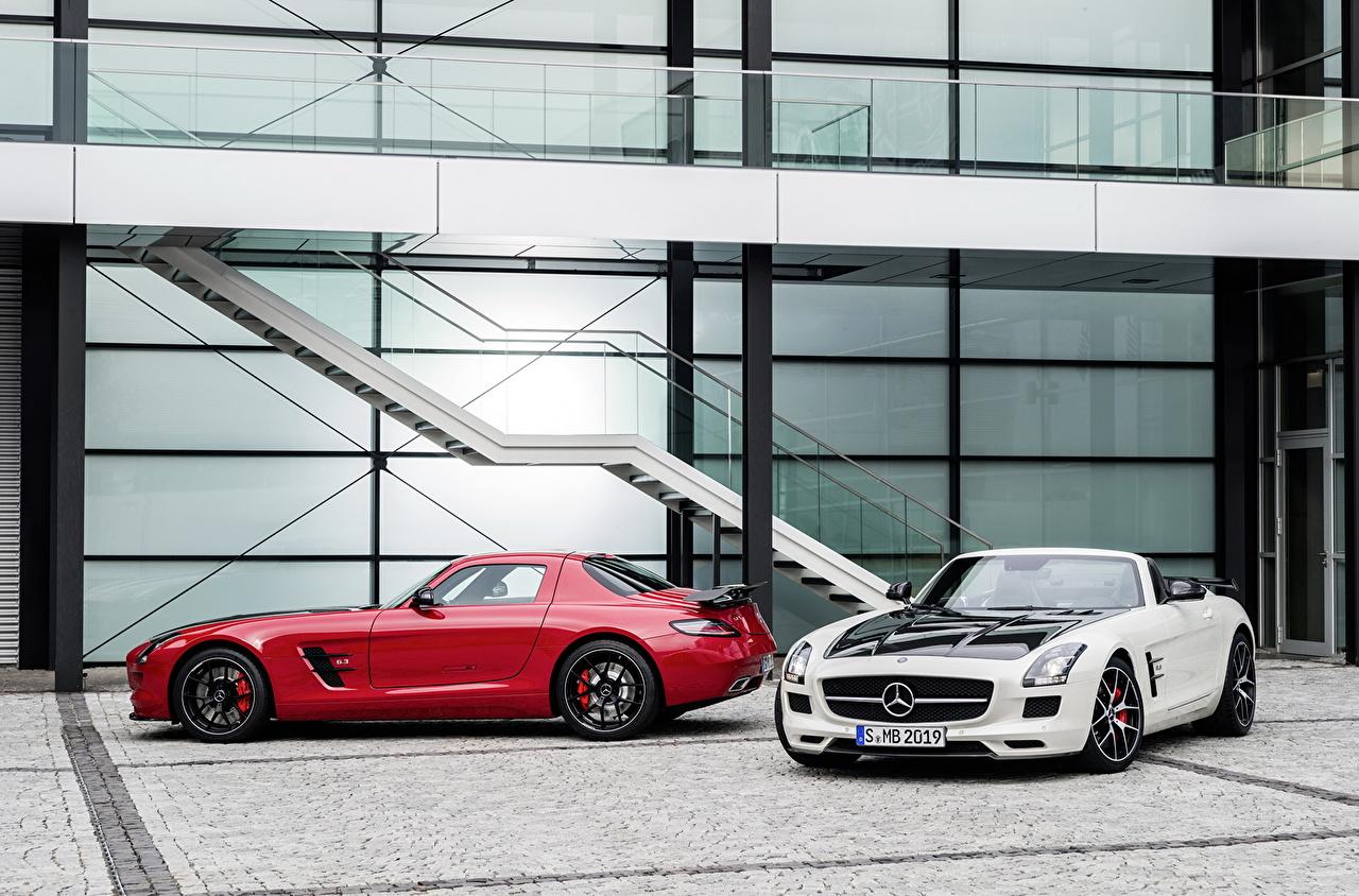 Фотография Mercedes-Benz 2013 SLS 63 AMG GT roadster Родстер авто Мерседес бенц машина машины автомобиль Автомобили