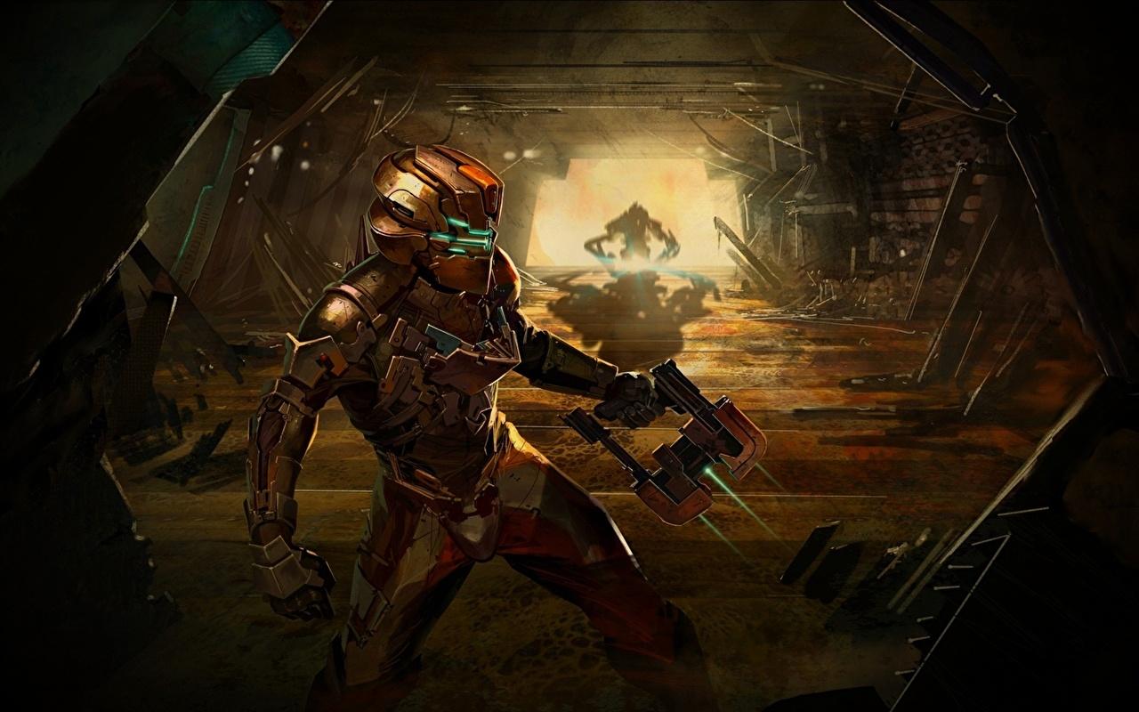 Фотографии Игры Dead Space Фан АРТ компьютерная игра Fan ART