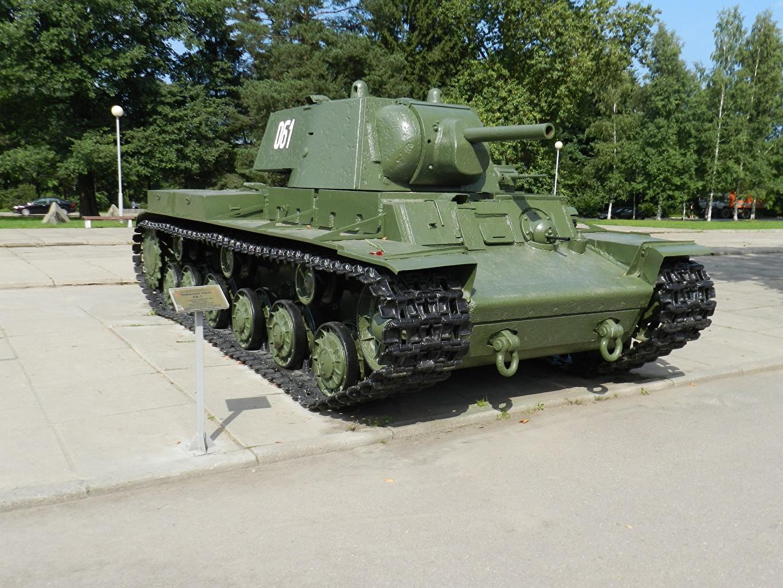 Картинка Танки Россия Памятники KV-1