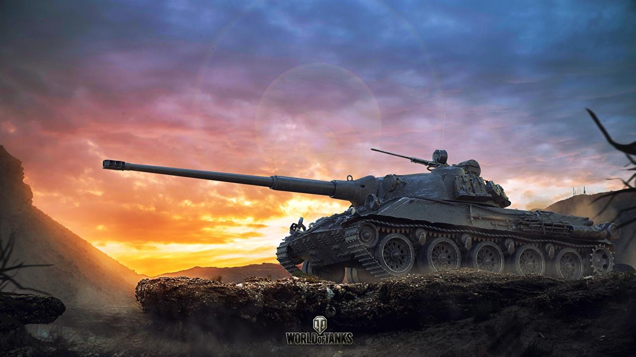 Фотографии WOT Танки Skoda T 27 Игры World of Tanks танк компьютерная игра