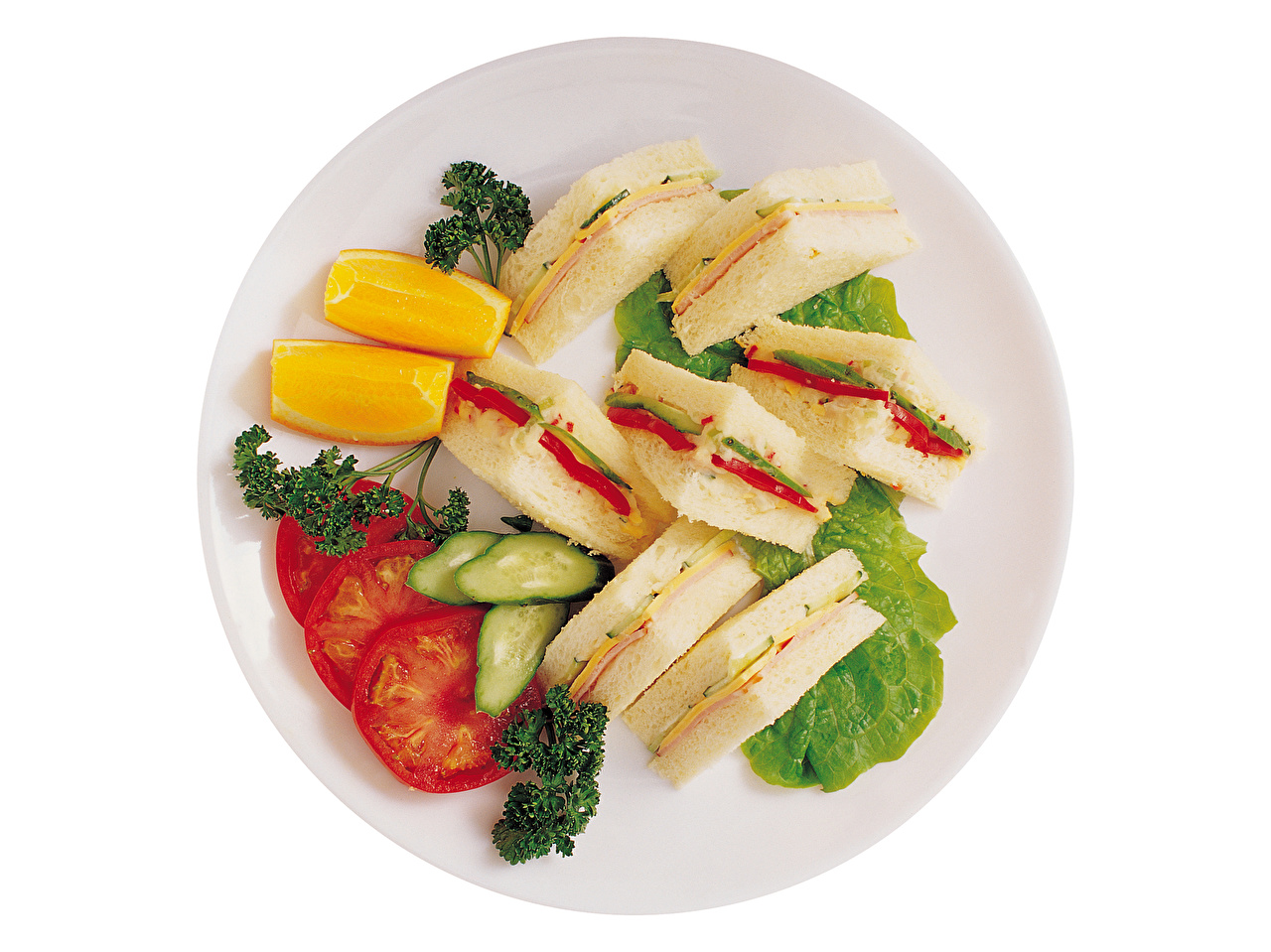 Фото Помидоры Апельсин Бутерброды Пища Томаты бутерброд Еда Продукты питания