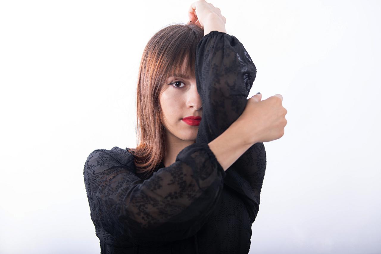Фото Mireya C. Balderas девушка Руки смотрят Девушки молодая женщина молодые женщины рука Взгляд смотрит