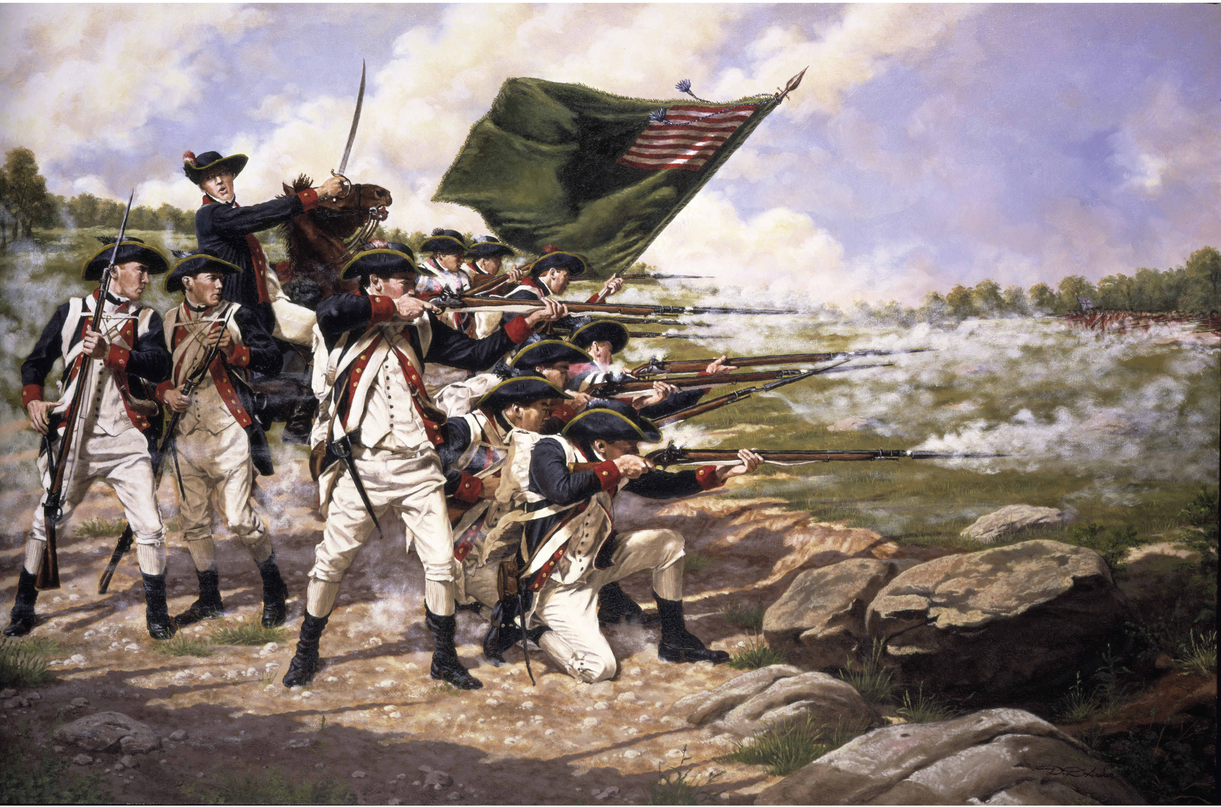 how did the americans sustain the revolution between 1776 and 1778