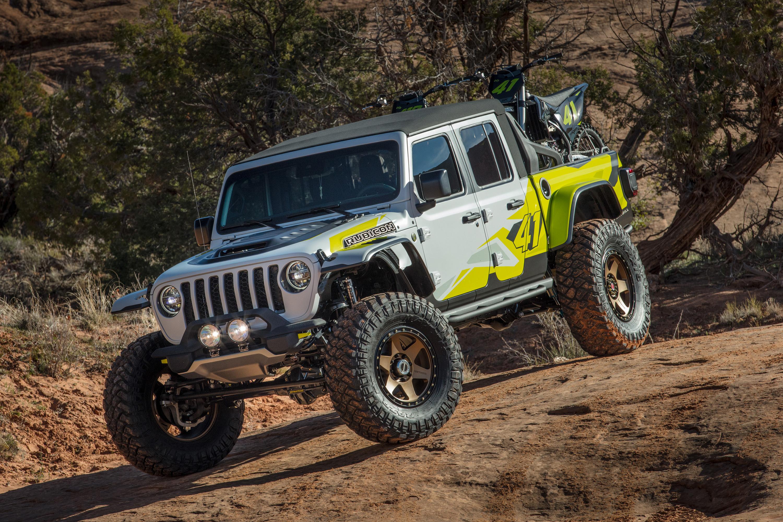 Обои для рабочего стола Джип Тюнинг SUV 2019 Flatbill Пикап кузов Автомобили Jeep Стайлинг Внедорожник авто машины машина автомобиль