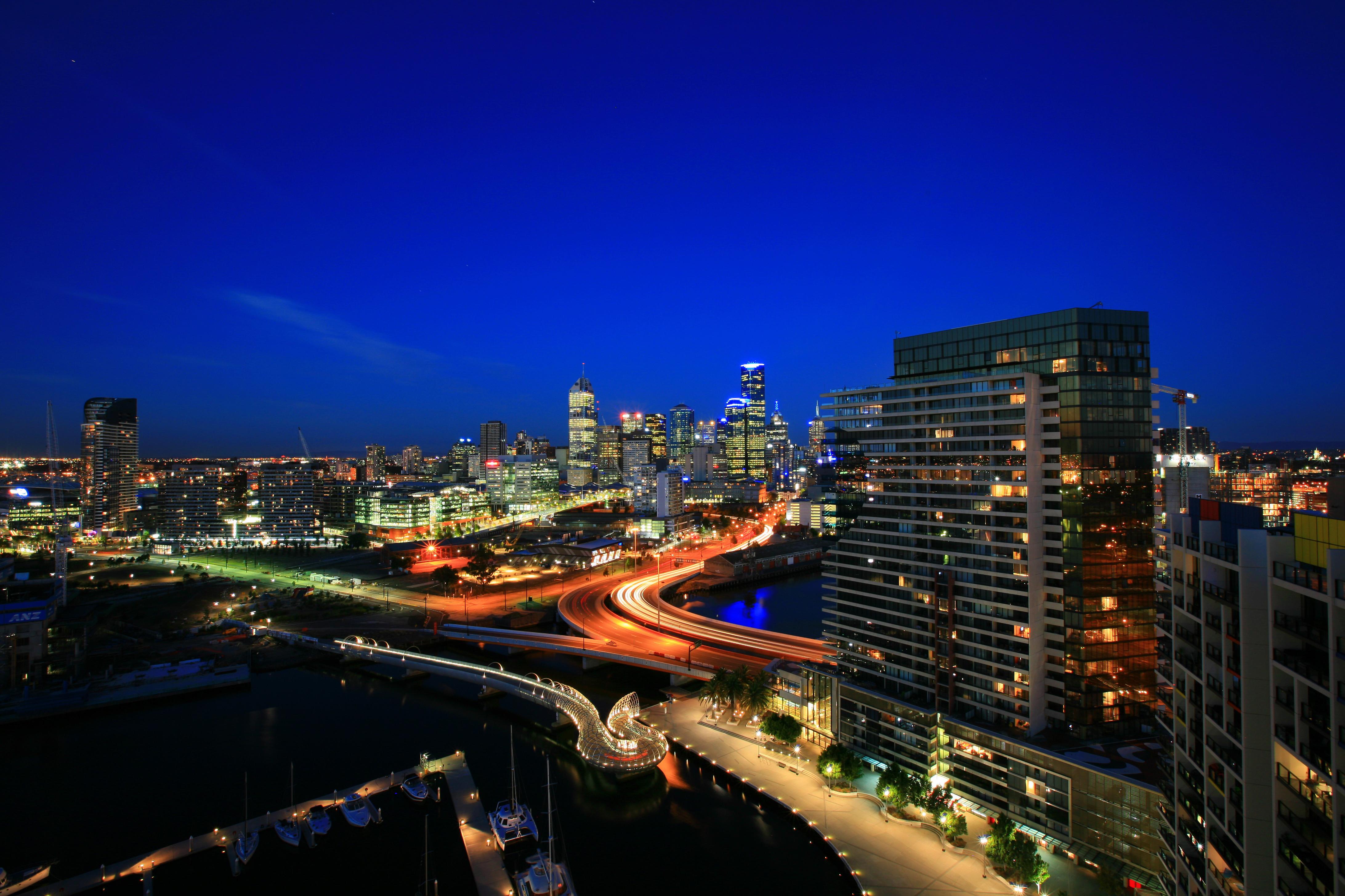 страны архитектура Австралия Мельбурн небо облака природа загрузить