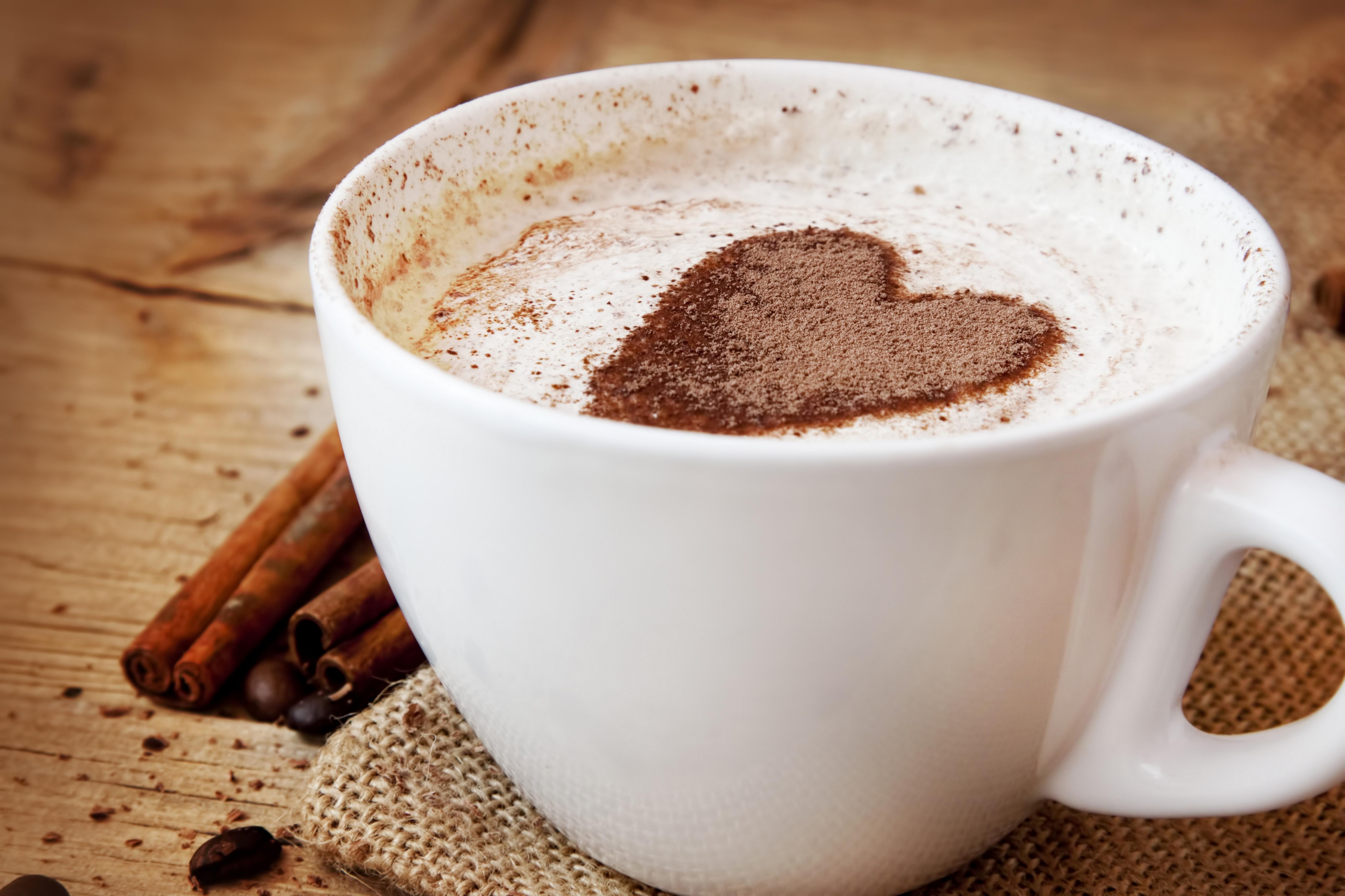 Чашка сердце кофе бесплатно