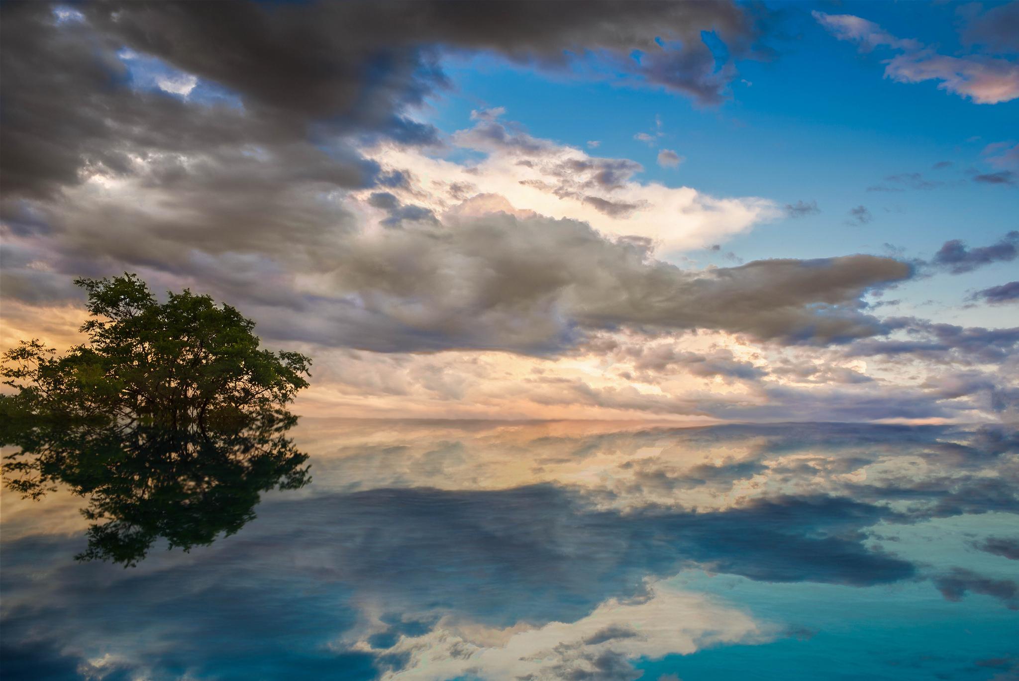 озеро небо скачать