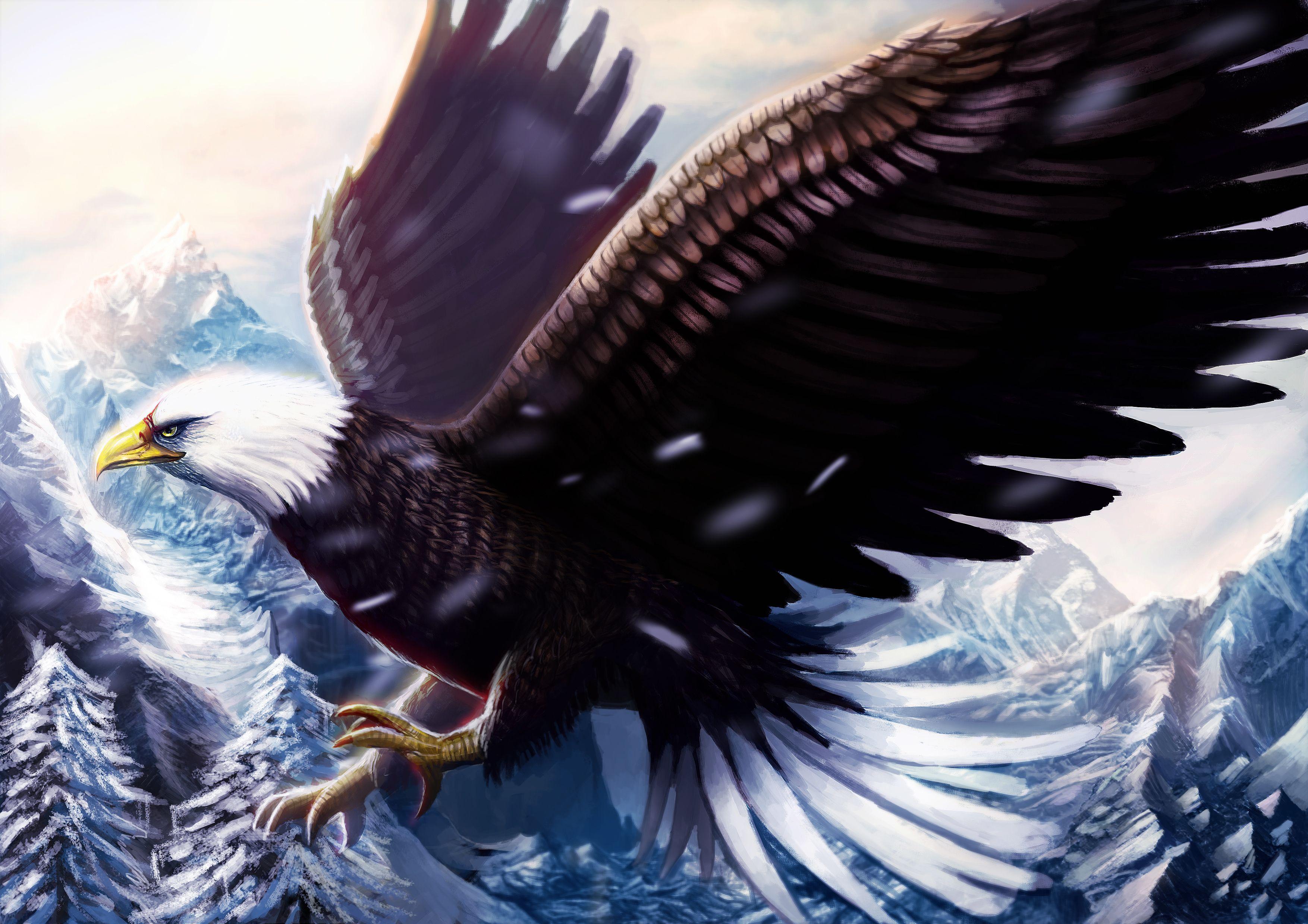 клюв орел зима the beak eagle winter бесплатно