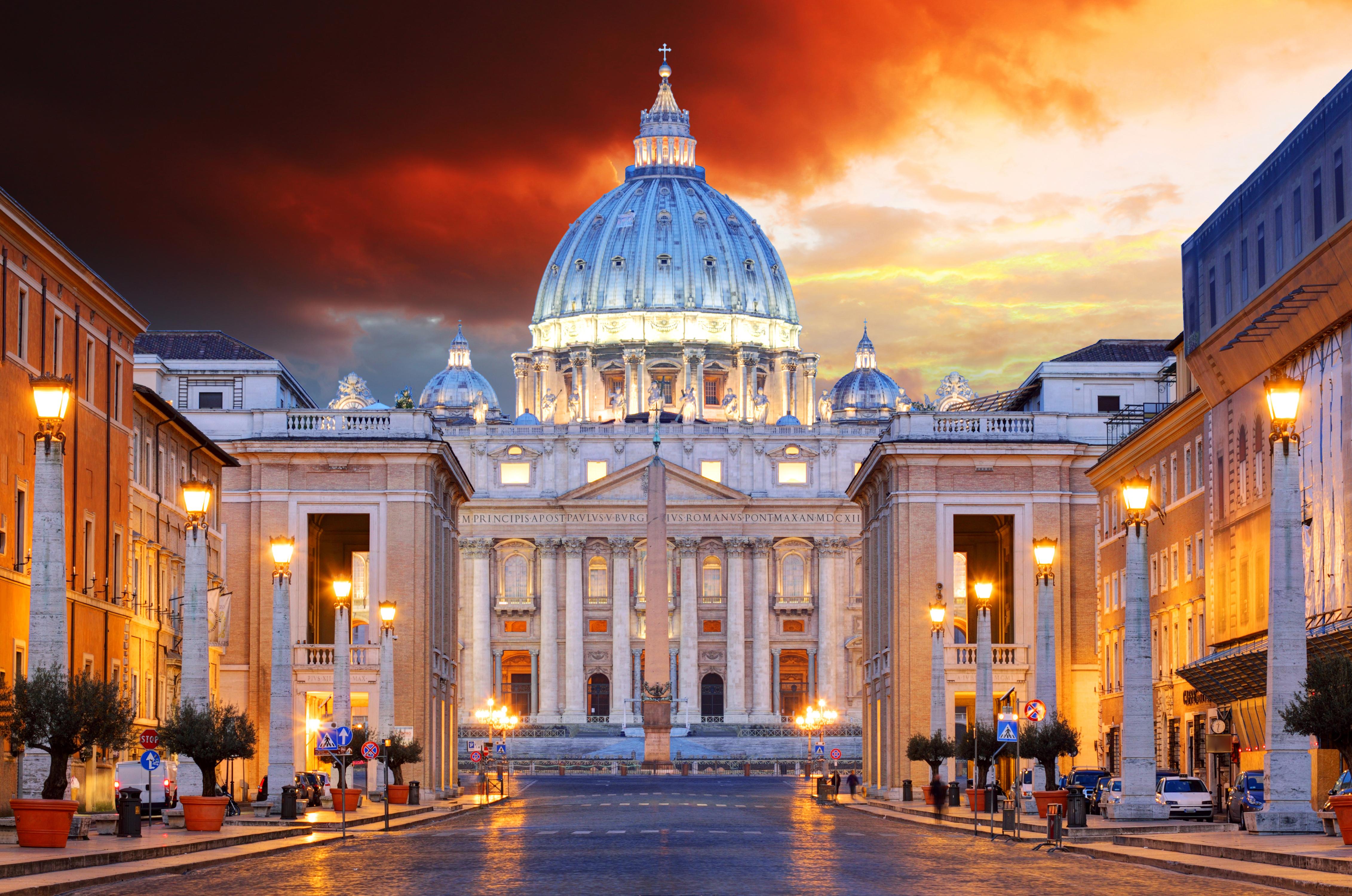 Обои улица, Ватикан, здания, дома. Города foto 8