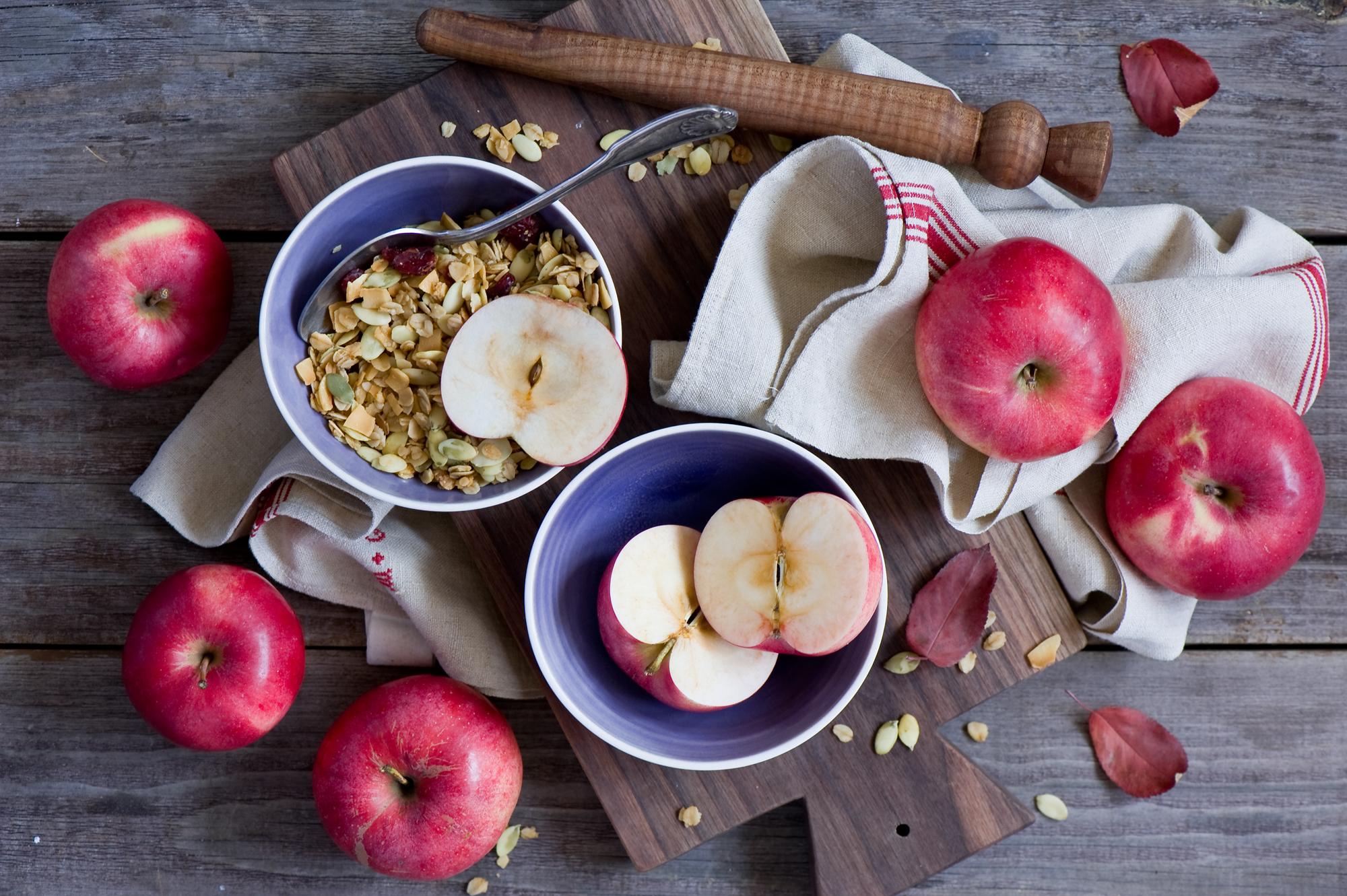 Диета яблоки орехи