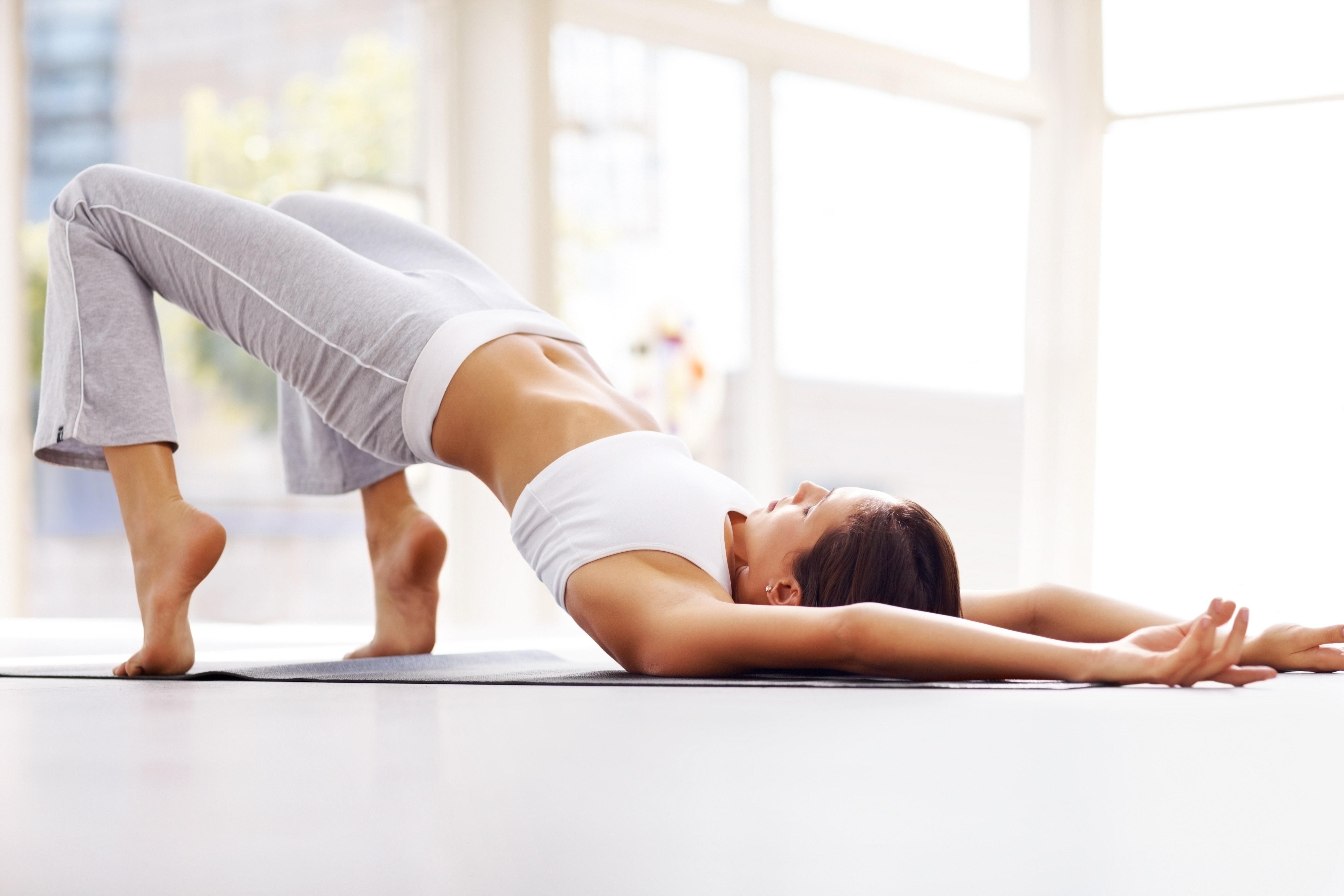 Йога растяжка для похудения
